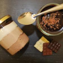 Verrine 3 chocolats