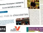 Le chocolat oui, mais le chocolat bio !