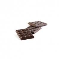 Mini-tablettes noir chocolat cru