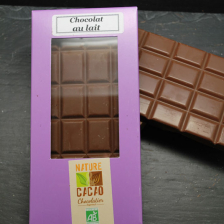 Lot de 3 Tablettes chocolat au lait