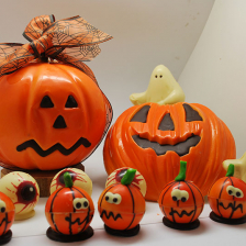 Chocolats d'Halloween